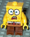 spongebob- lego shocked look minifigure