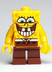 lego spongebob squarepants minifigure grinning bottom