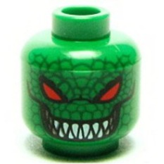 Killer Croc Batman Minifigure Head