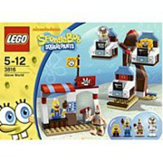 Lego Sponge Bob Squarepants Glove World