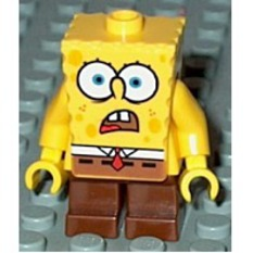 Buy Spongebob Shocked Look Minifigure