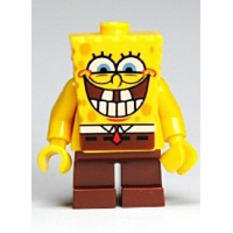 Buy Spongebob Squarepants Minifigure Grinning