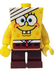 spongebob bandaged lego minifigure visually unique