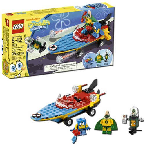 Lego Sponge Bob Heroic Heroes Of The Deep 3815