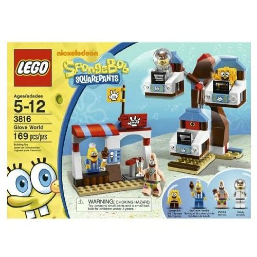 Lego Sponge Bob Square Pants Glove World